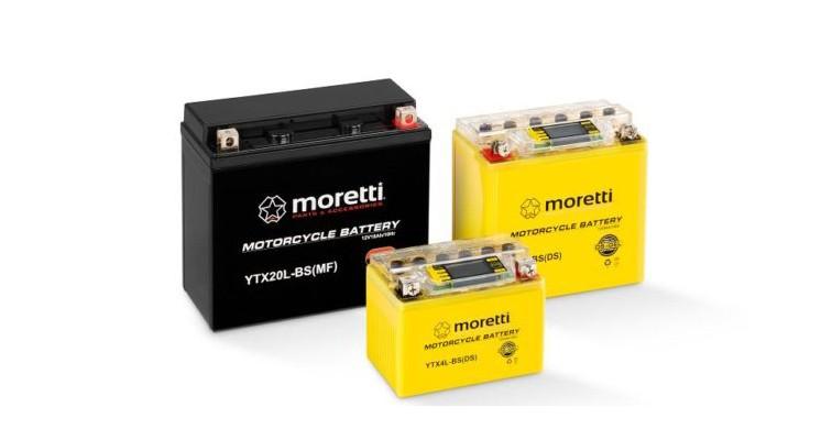 Akumulatory Moretti I-GEL / LCD Poznań