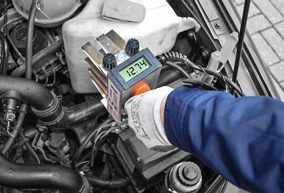 Test akumulatora samochodowego